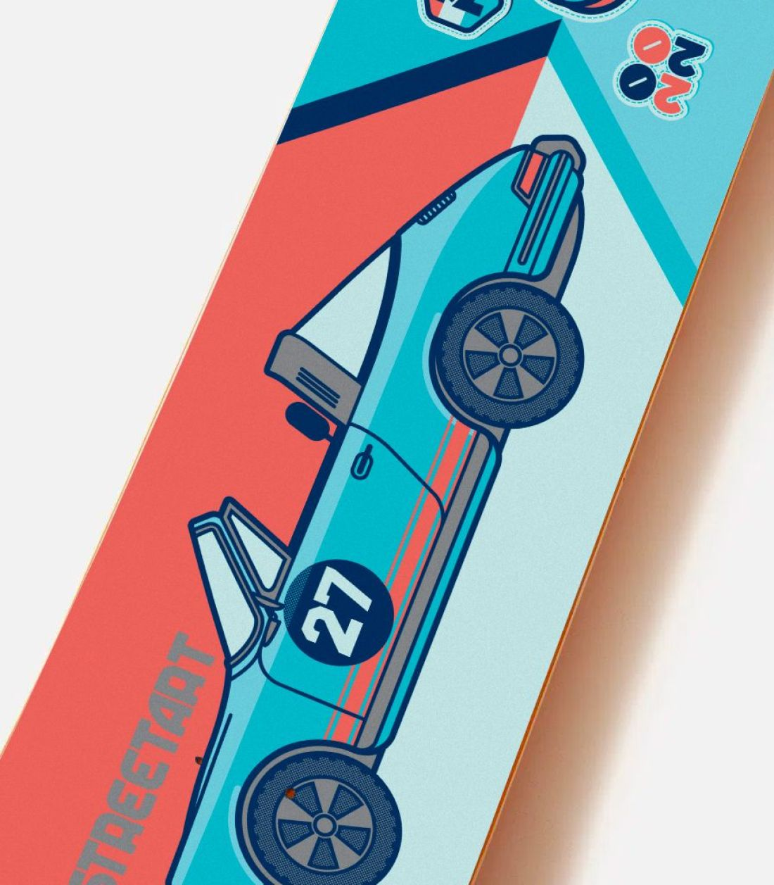 Streetart X Jono Wood Skateboard Decks 3