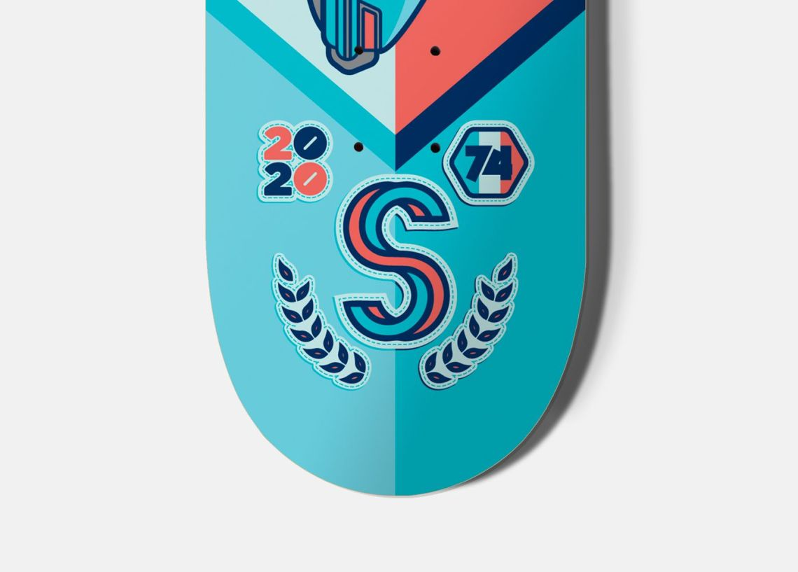 Streetart X Jono Wood Skateboard Decks 4