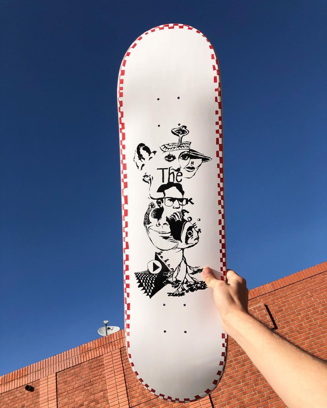 Daydreams Series Par Kevin Spanky Long X Baker Skateboards.4