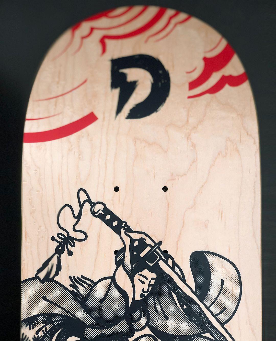 Geisha Series By Plot X Doble Skateboards 7