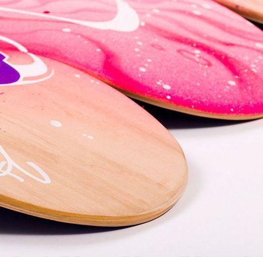 Apercu Des Skateboards De La Nouvelle Edition SPRAYING BOARD 1