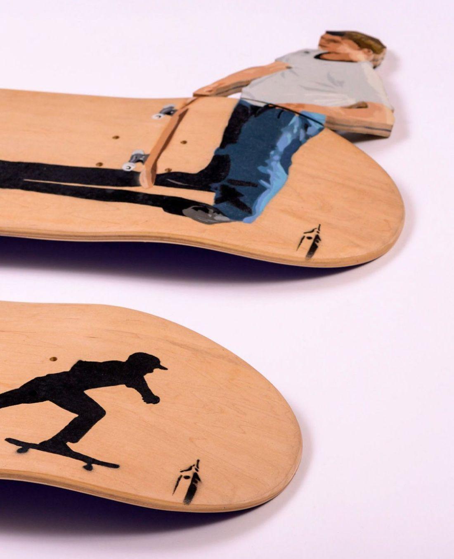 Apercu Des Skateboards De La Nouvelle Edition SPRAYING BOARD 4