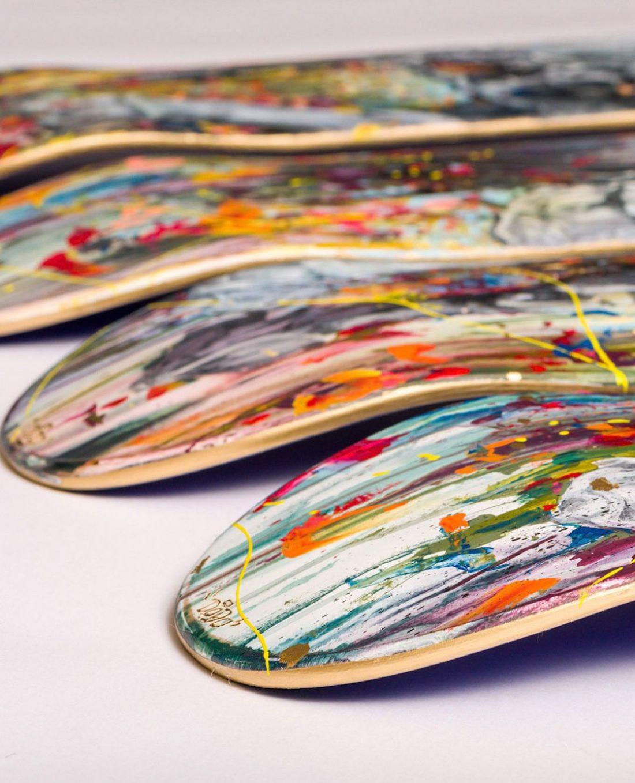 Apercu Des Skateboards De La Nouvelle Edition SPRAYING BOARD 6
