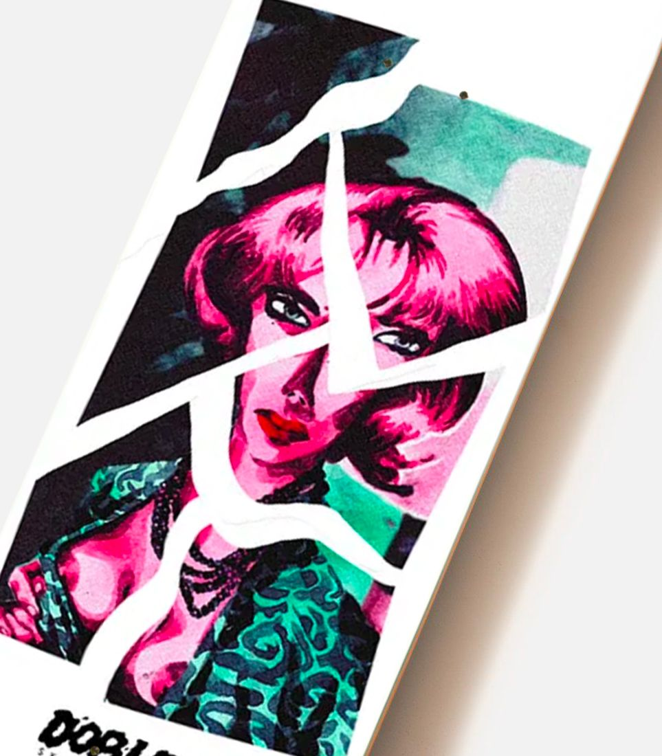Aquarelle Series By Quentin Caillat X Doble Skateboards 4
