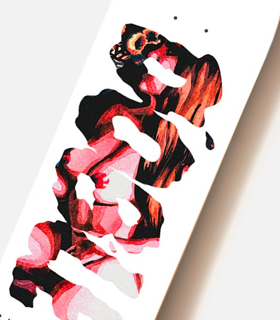 Aquarelle Series By Quentin Caillat X Doble Skateboards 6