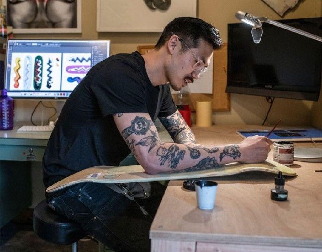 Guest Artist Par Bryce Wong X REAL Skateboards (2)