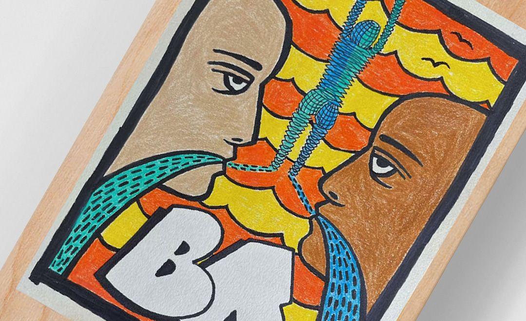 Convenit Skateboard By Brian Anderson For Clown Skateboards And Lisa Project NYC
