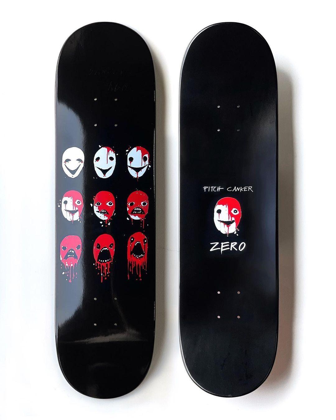 Pitch Canker X Zero Skateboards 10