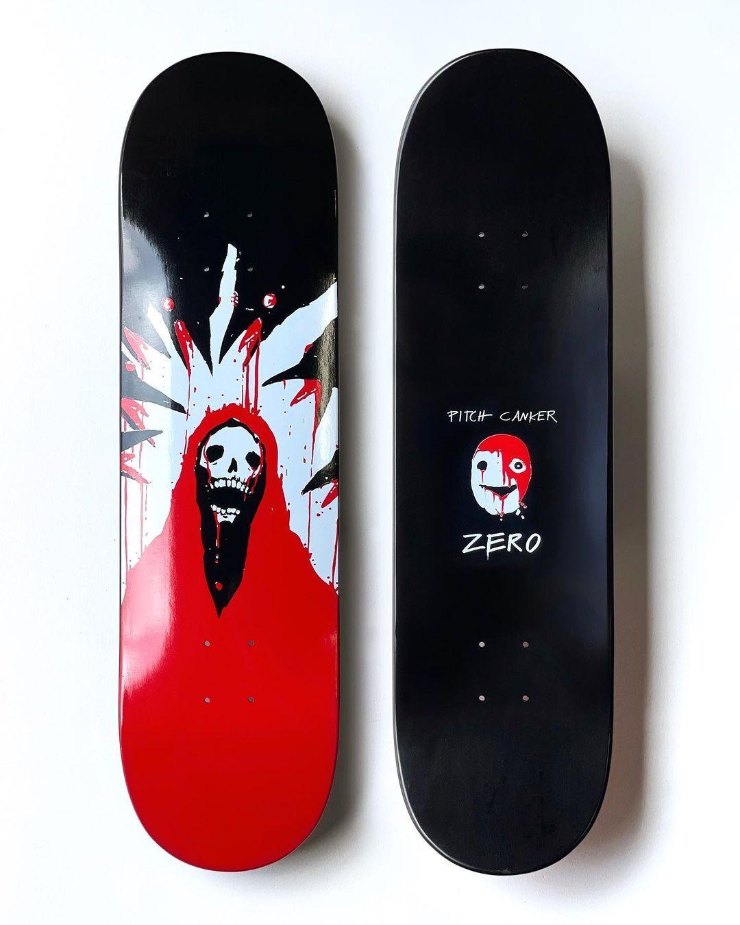 Pitch Canker X Zero Skateboards 2