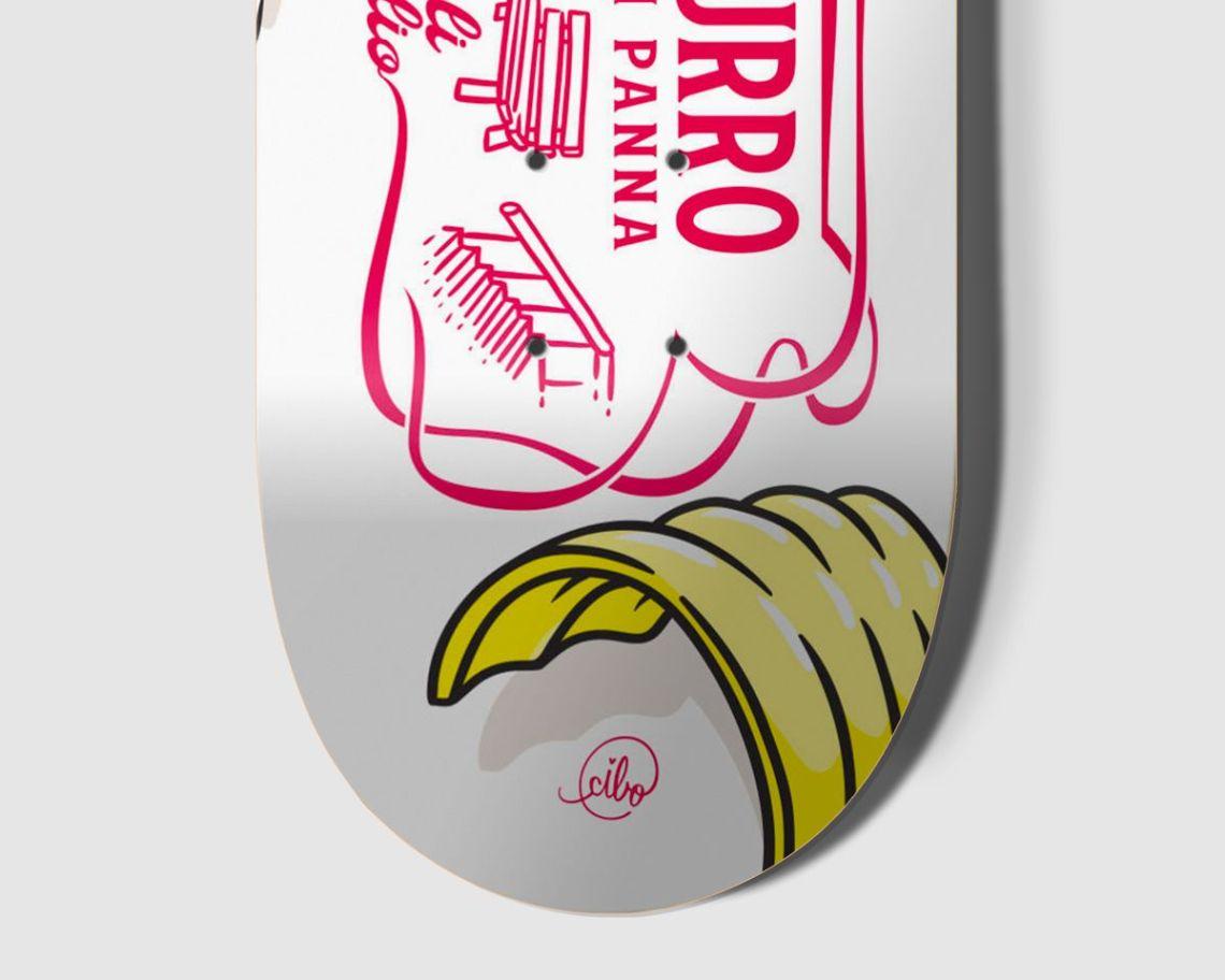 Burro Di Panna Skateboard By Cibo For Bonobolabo 3