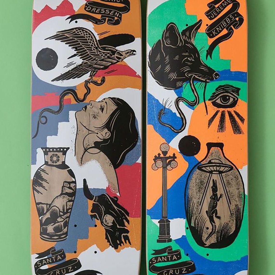 Seekers Series Bys Jess Mudgett For Santa Cruz Skateboards 1