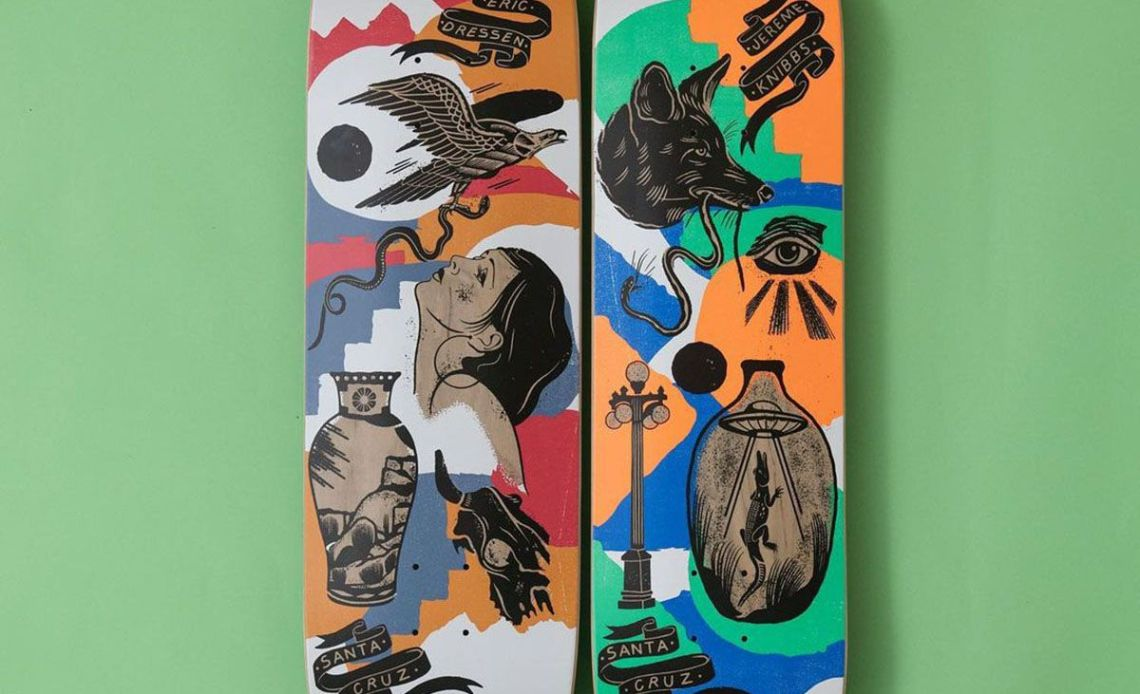 Seekers Series Bys Jess Mudgett For Santa Cruz Skateboards 3