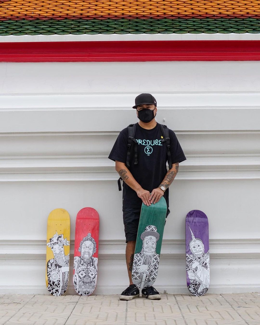 Stone Giants Deck Series By TR For Preduce Skateboards 12