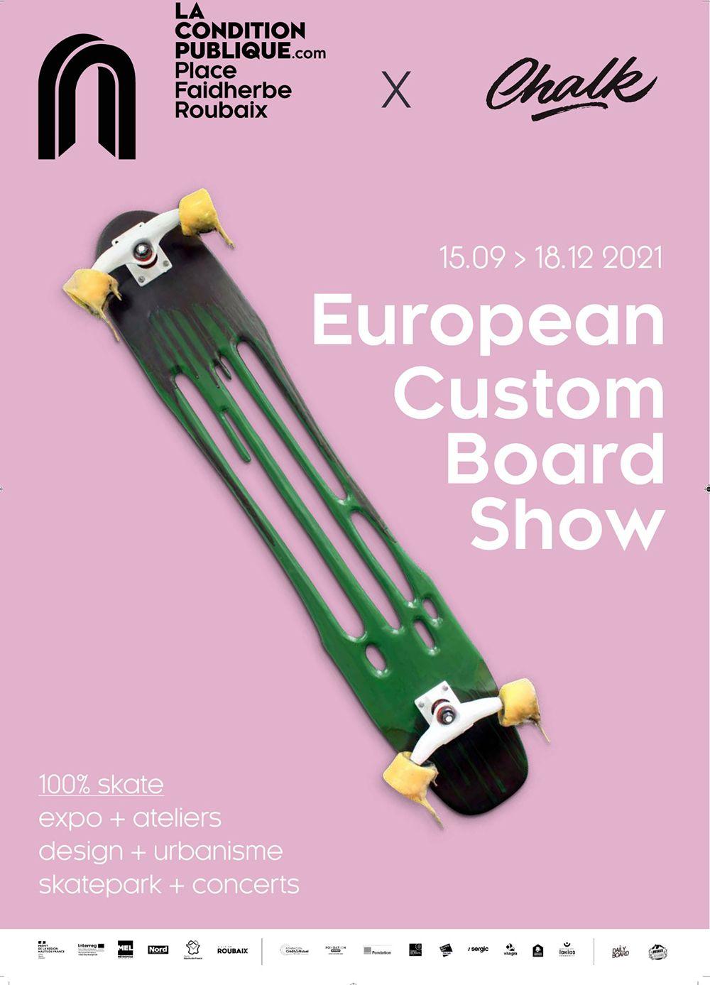Affiche European Custom Board Show 2021 1