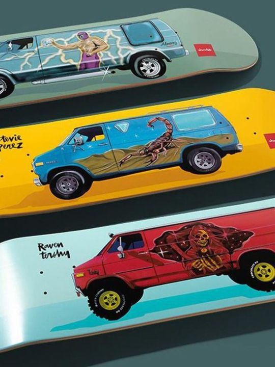 Chocolate City Vanners By Ben Petersen For Chocolate Skateboards 1