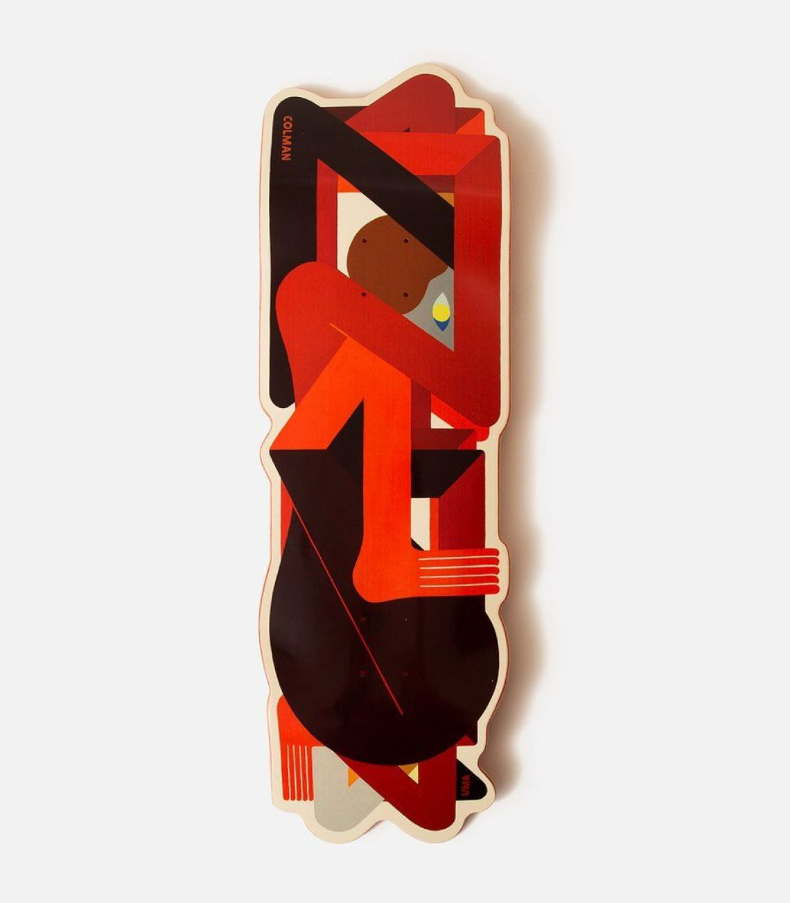 Crazy Special Edition By Richard Colman X Uma Skateboards 4