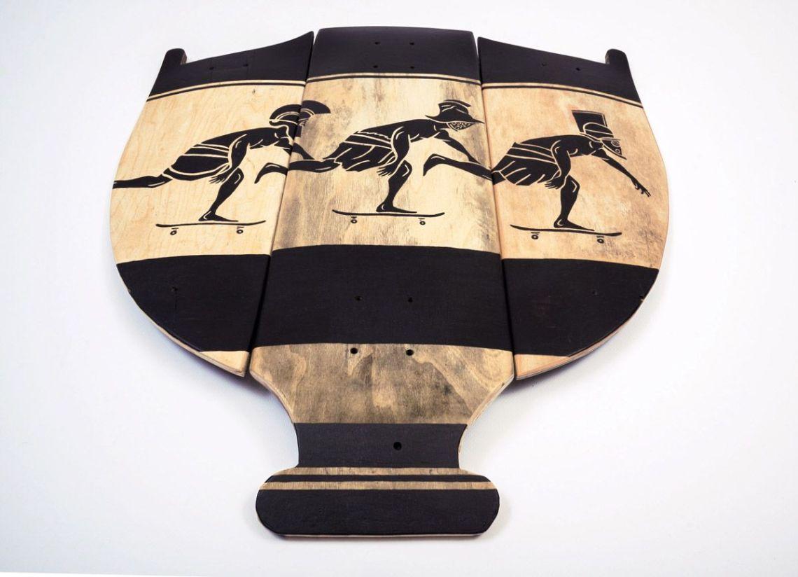 Skunus Gladiatorium Skate Sculpture By Rom Avjc 1