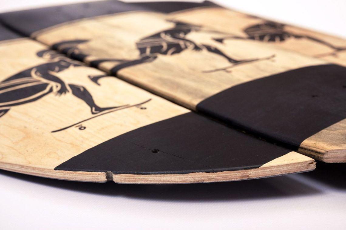 Skunus Gladiatorium Skate Sculpture By Rom Avjc 7