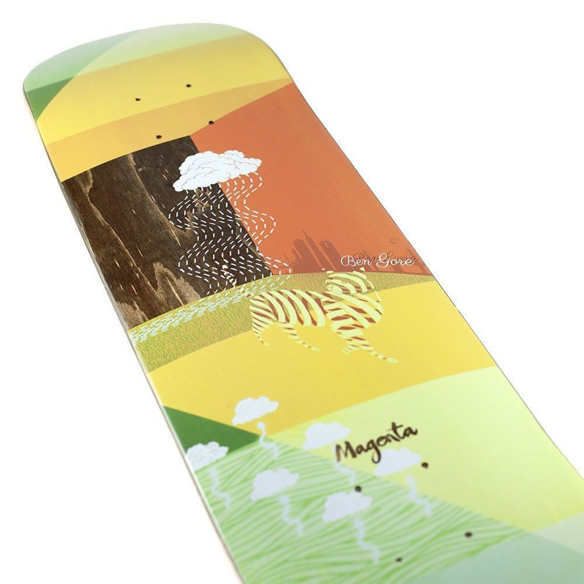 Sleep Board Series By Soy Panday For Magenta Skateboards 7