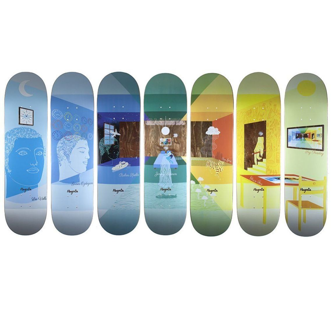 Sleep Board Series By Soy Panday For Magenta Skateboards 8