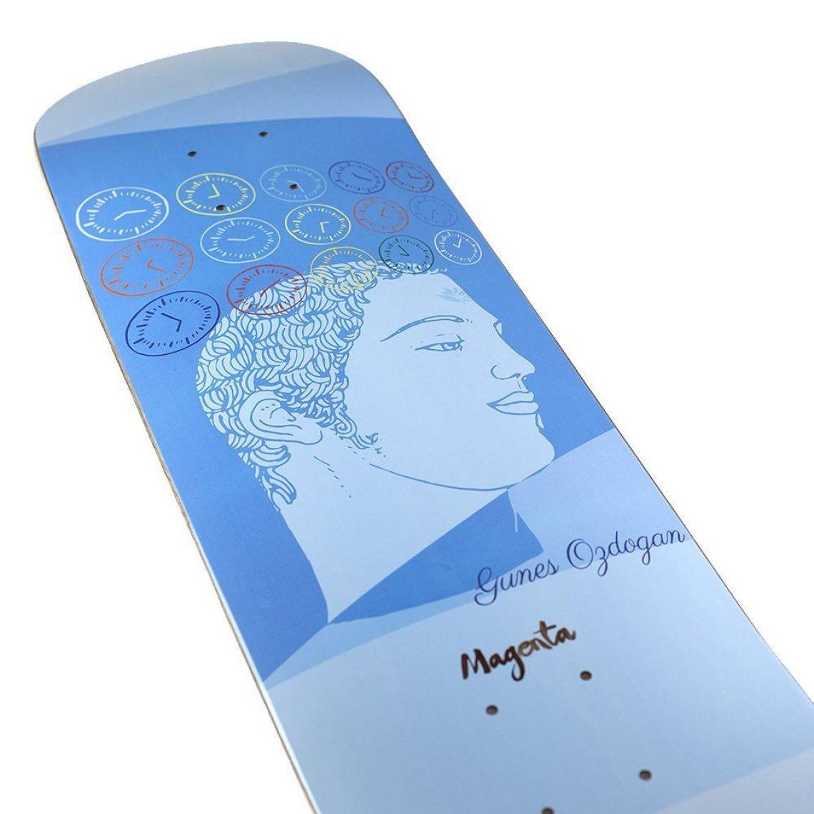 Sleep Board Series By Soy Panday For Magenta Skateboards