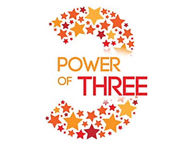 Three. . .