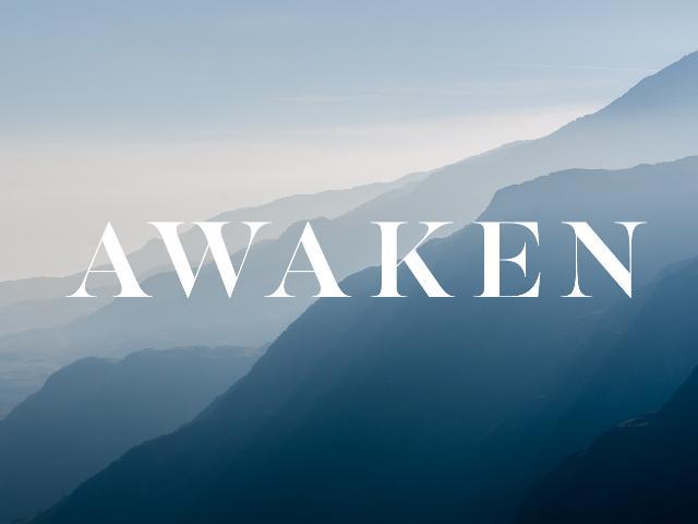 Awaken. . .