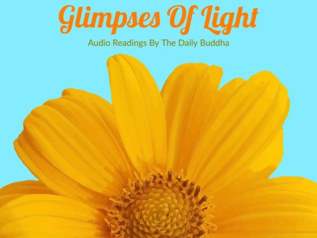 Glimpses Of Light – The Daily Buddha Audio Book Is Here!