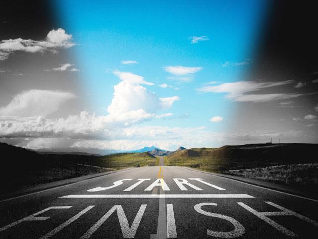 We Start, We Finish. . .