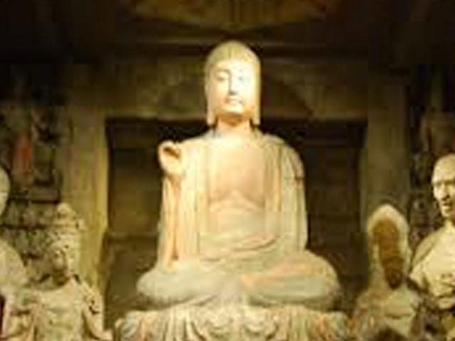 A Buddha. . .