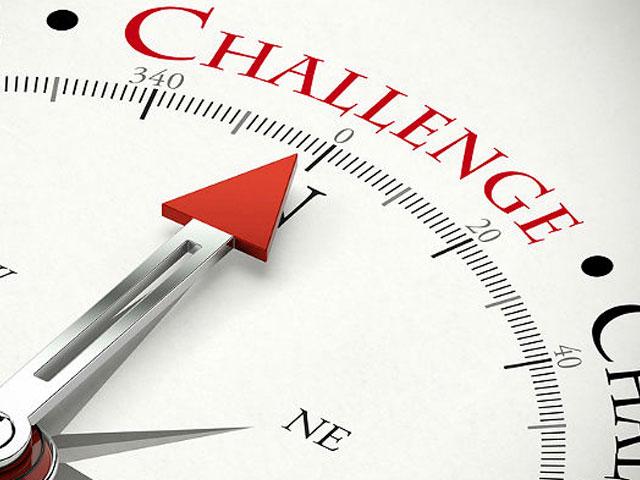 Challenges. . .