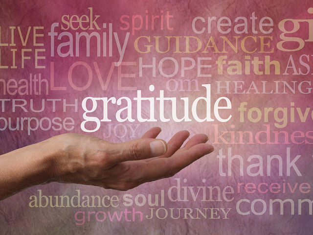 Gratitude and Grace. . .