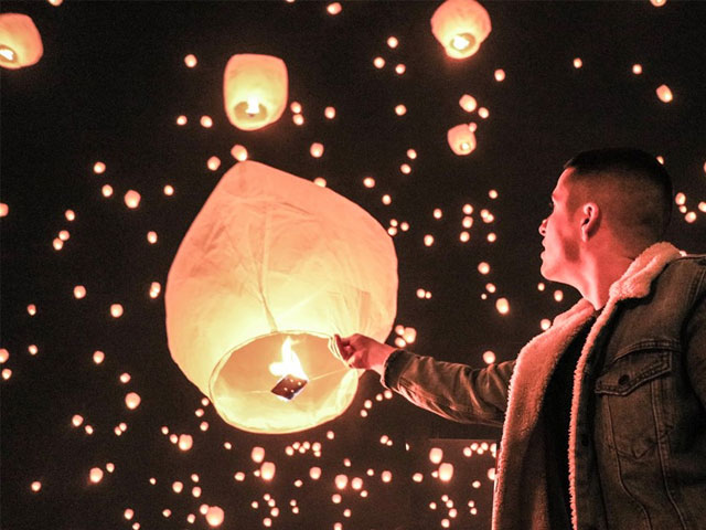 Light Your Lantern. . .