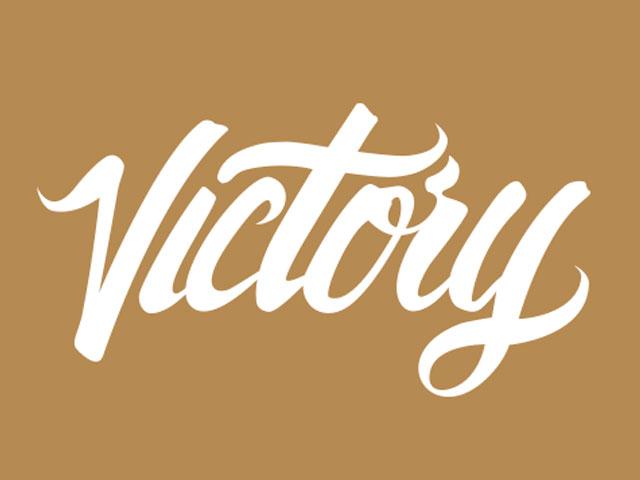 Victory. . .