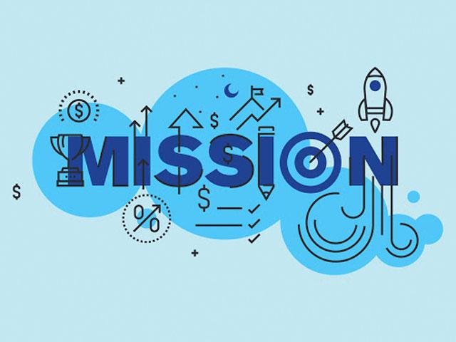Mission. . .