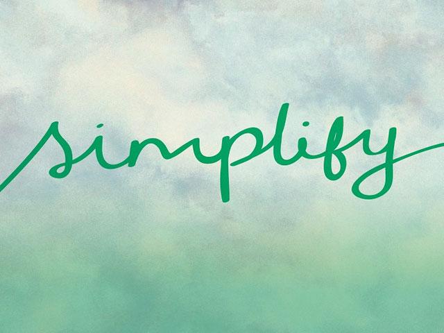 Simplify. . .