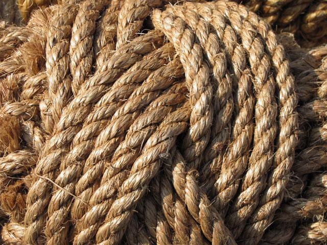 Ropes. . .