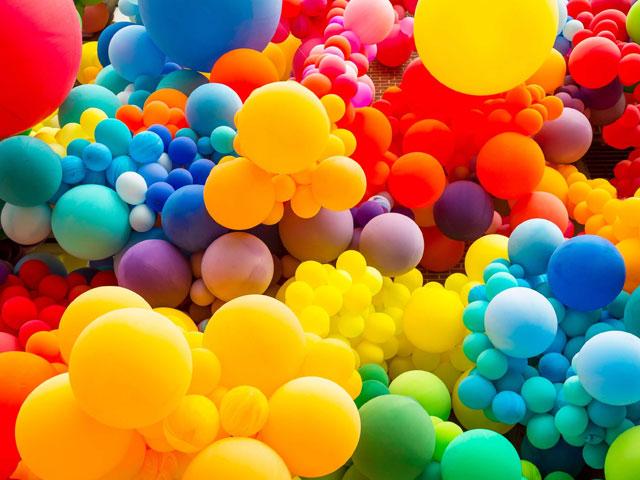 Balloons. . .