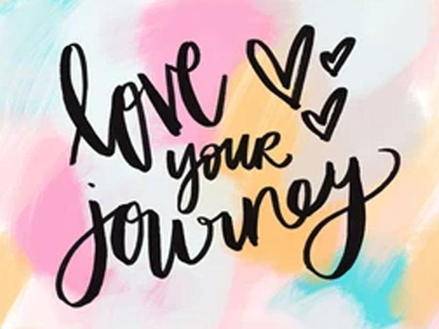 Enjoy The Journey. . .