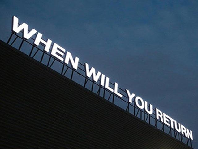 Return. . .