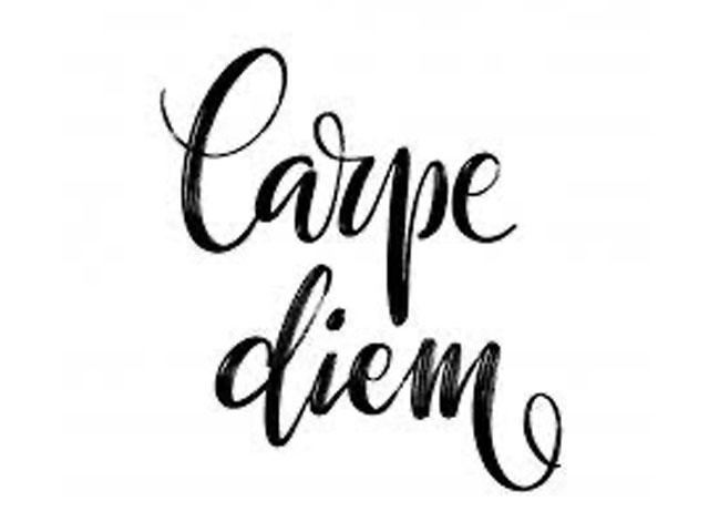 Seize it. . .