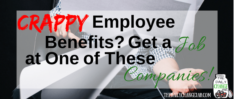Do you want to work from home AND get some sweet benefits? In this post I highlight 4 different companies that are doing employee benefits right! Click the image to see which companies offer top notch employee benefits! 401k | betterment | budget | debt | fidelity | financial independence | index funds | investing | ira | mortgage | personal capital | personal finance | real estate investing | retirement | roth ira | saving | side hustle | stock investing | student loans | vanguard | wealthfront | jobs | career | credit | bankruptcy
