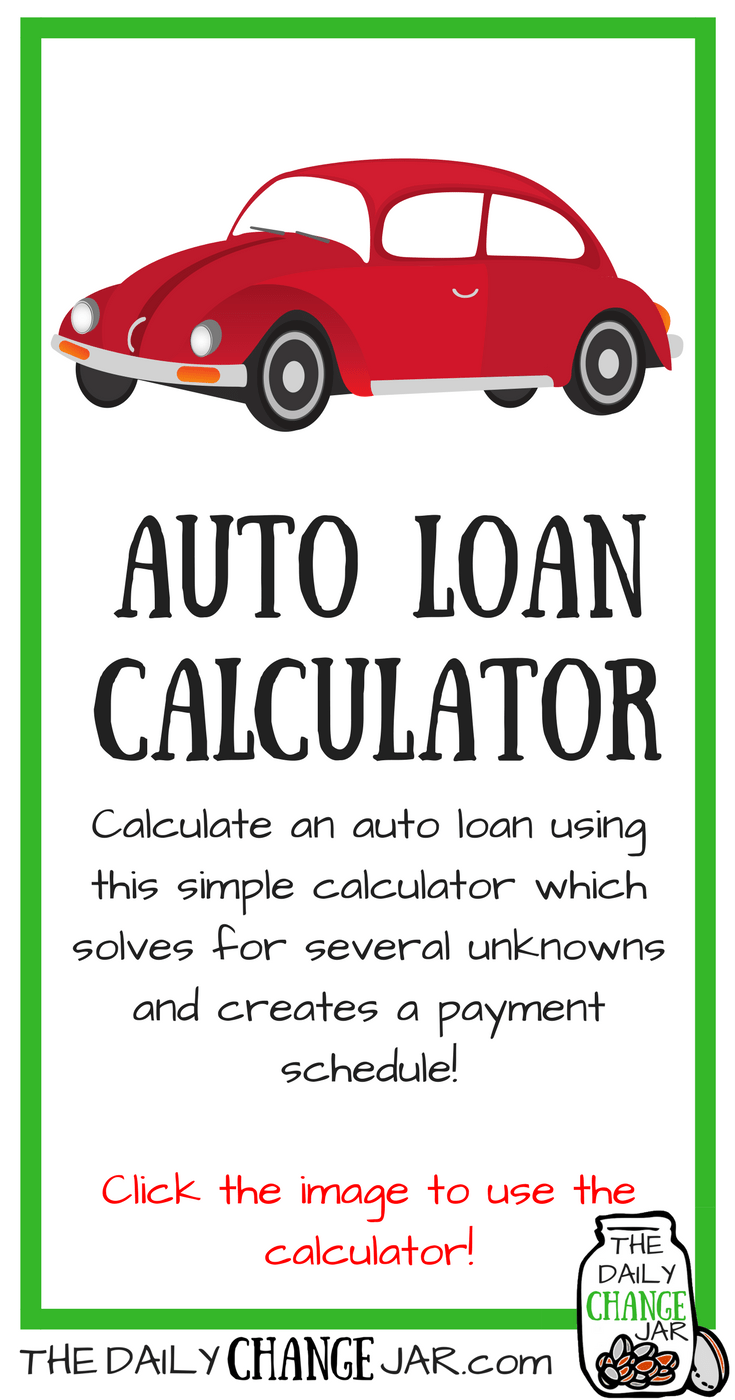 Are you looking for a new vehicle? Make sure your new dream car will fit into your budget with this simple auto loan calculator! Click the image, enter your predicted amounts and out pops a payment scheudle! 401k | betterment | budget | debt | fidelity | financial independence | index funds | investing | ira | mortgage | personal capital | personal finance | real estate investing | retirement | roth ira | saving | side hustle | stock investing | student loans | vanguard | wealthfront | jobs | career | credit | bankruptcy