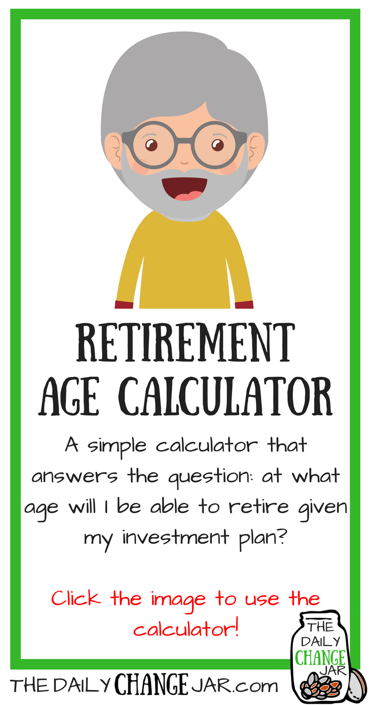 Do you know what age you can retire at? Use this simple calculator to determine at what age you will be able to retire at given your investment plan! Click the image, enter your a few stats and out pops your predictions! 401k | betterment | budget | debt | fidelity | financial independence | index funds | investing | ira | mortgage | personal capital | personal finance | real estate investing | retirement | roth ira | saving | side hustle | stock investing | student loans | vanguard | wealthfront | jobs | career | credit | bankruptcy