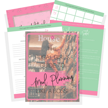 Do you want to rock your meal plan like a boss even if you suck at meal planning? Check out the frugal girl's guide to meal planning like a boss!