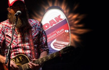 EXCLUSIVE: David Crowder Is Promoting Premium Ham At All Of…