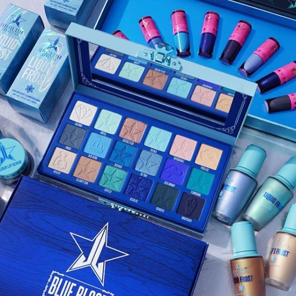 PALETA BLUE BLOOD JEFFREE STAR ROMANIA (+ INTREAGA COLECTIE)