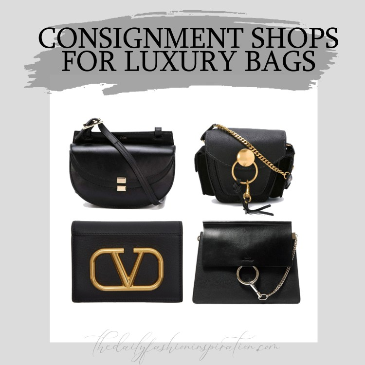 consignment shops luxury bags