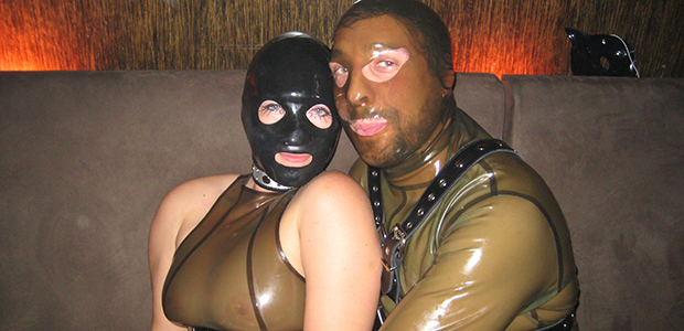 Latex Fetish Couple Celebrate 10th Anniversary; Still Don't Know What Each Other Look Like