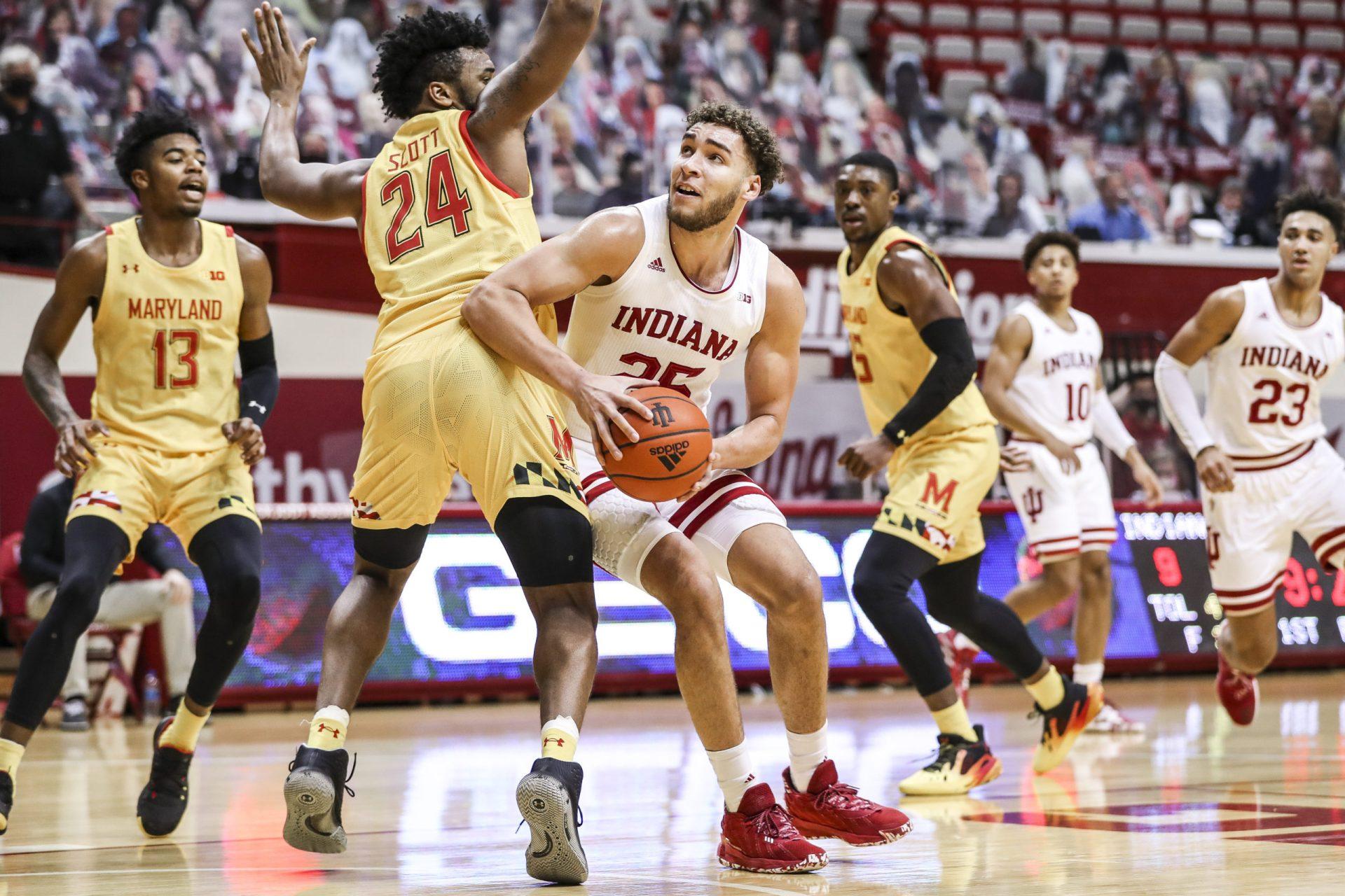 BLOOMINGTON, IN – 2021.01.04 – Men's Basketball vs. Maryland